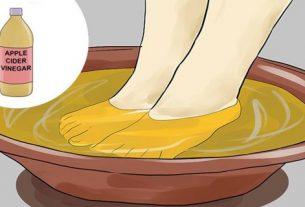 Ocet jabłkowy i moczenie stóp – Przyjemny i naturalny przepis na wiele chorób